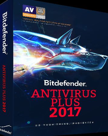 Bitdefender  ANTIVIRUS PLUS 2017. 1 PC / 1 Year [Online Code]